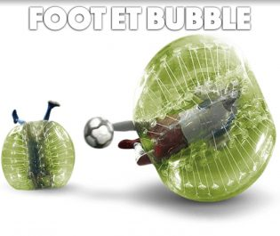 foot et bubble