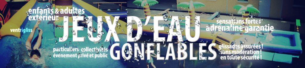 jeux d'eau gonflables id2 loisirs