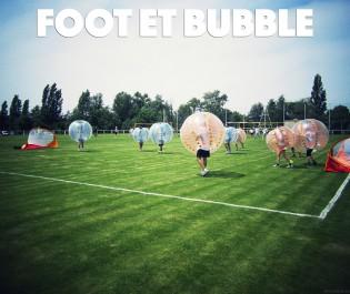 foot et bubble