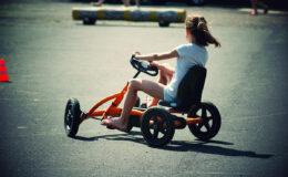 loisirs roulants kart à pédales buddy kart id2loisirs
