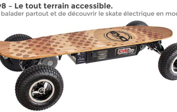 Skate électrique cross 800 Chain V2