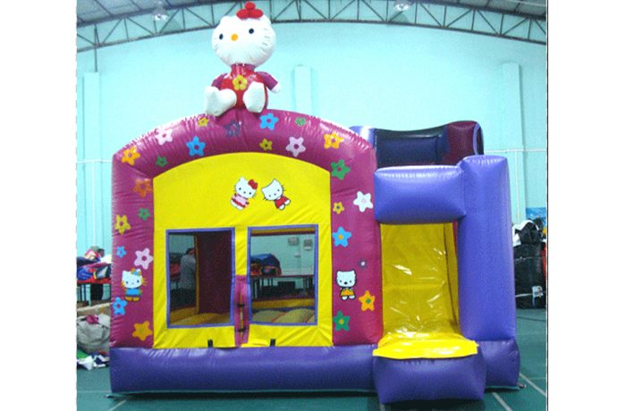 Combo Hello Kitty gonflable