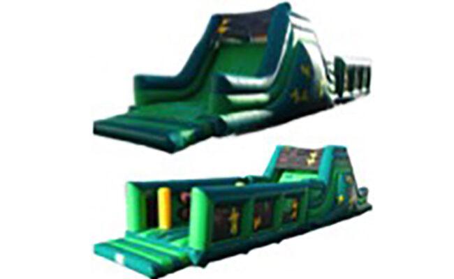 jeux gonflables enfants parcours obstacles id2 Loisirs