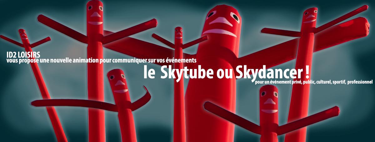 actualités : id 2 loisirs vous propose une nouvelle animation pour communiquer sur vos événements skytube ou skydancer