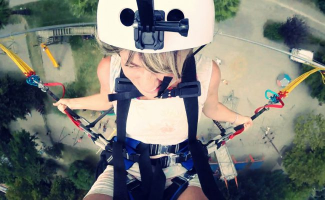 Skyjump éjection 18 mètres (3)
