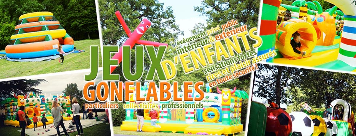 Les jeux gonflables sont de nouveau de sortie ! Pour enfants, adolescents et adultes. Evénements publics, professionnels et privés