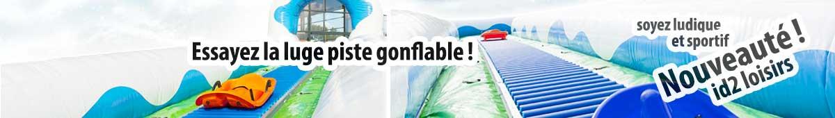 Nouvelle activité automne 2018 : la piste de luge gonflable !