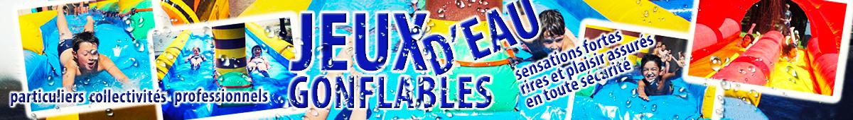 C'est le printemps, les jeux d'eau gonflables vont être de nouveau de la partie !