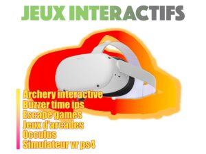 jeux interactifs et réalité virtuelle id2loisirs