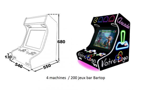 Jeux d'arcades Bartop | Nouveauté 2020