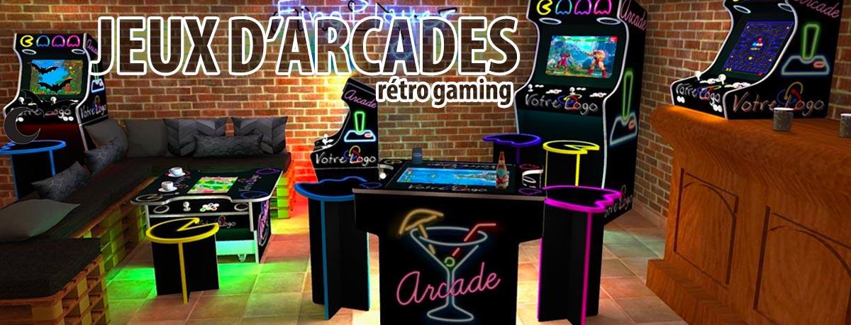 Jeux d'arcades id2 loisirs