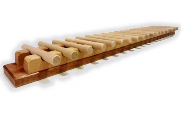 Jeu en bois : jeu de bâtonnets (jeu de Nim)
