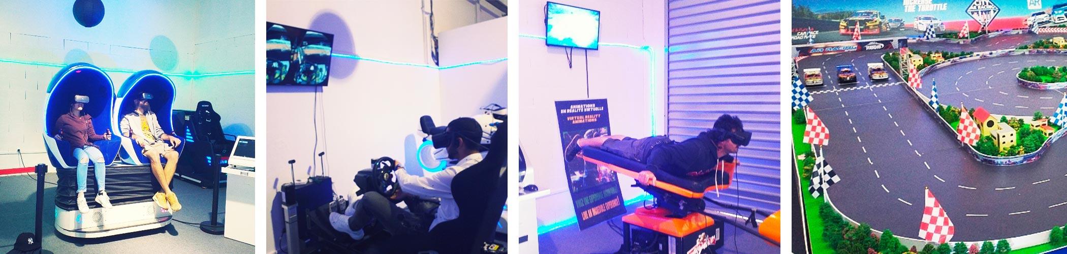 Ouverture de 2 salles de jeux challenge et réalité virtuelle