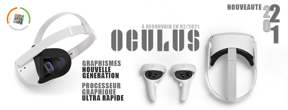 Occulus casque réalité virtuelle id2 loisirs activités ludiques et sportives sur toute la France