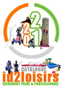 catalogue activités ludiques et sportives id2loisirs