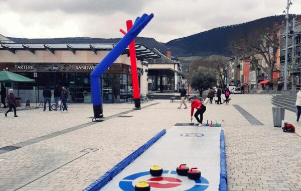 Piste de curling synthétique | Nouveauté 09/2021